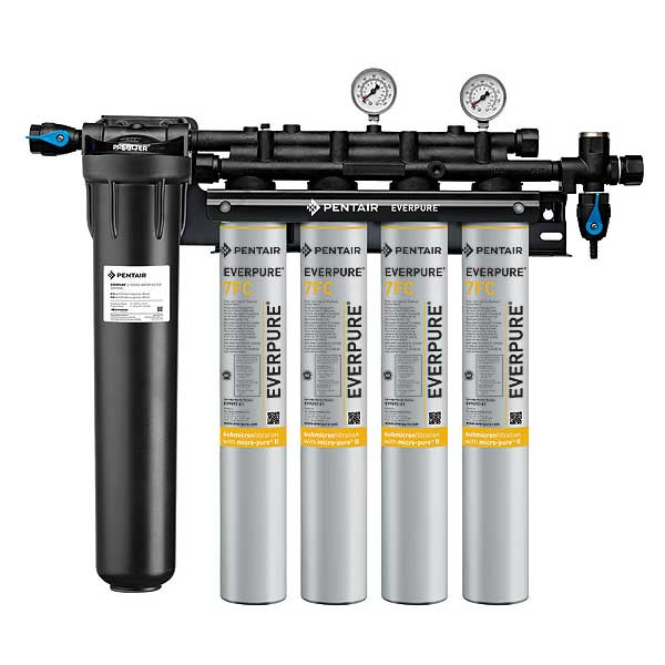 Everpure Coldrink 4-7FC Quad Water Filter System - EV932874