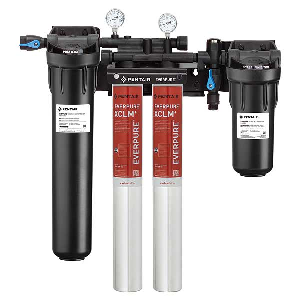 Everpure High Flow CSR Twin-XCLM Fountain Filtration System - EV976132