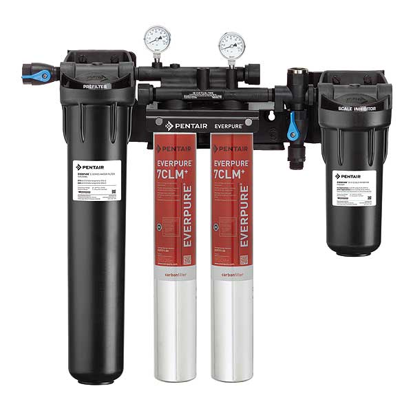 Everpure High Flow CSR Twin-7CLM+ Fountain Filtration System - EV977132
