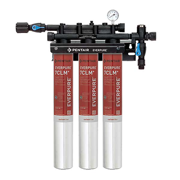 Everpure QC7I Triple-7CLM+ Fountain Filtration System - EV977113