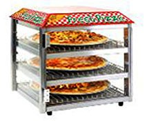 Fusion Commercial Pizza And Snack Display Case