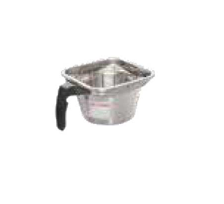 "Fetco Iced Tea Brew Basket 16"" X 6"" Stainless Steel - B001110G1"