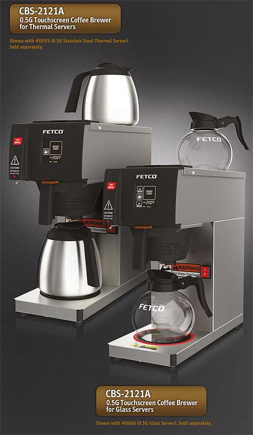 Fetco Zurich Pourover Coffee Brewer Automatic Single - CBS-2121A