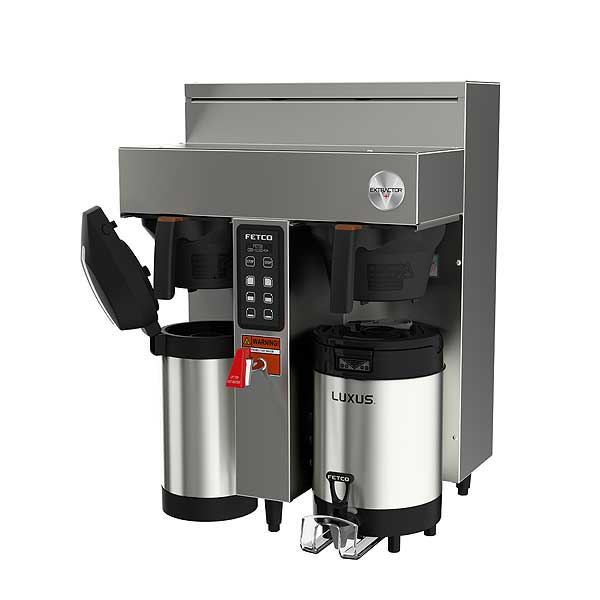 Fetco Extractor V+ Series Coffee Brewer Twin 1.0 Gallon Output - CBS-1132-V+