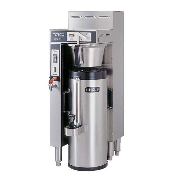 Fetco Handle Operated Series Coffee Brewer Single 1.5 Gallon Capacity - CBS-51H-15