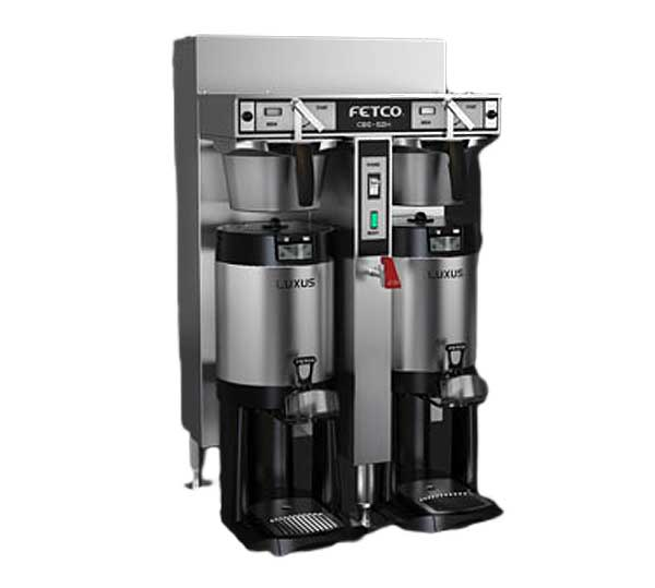 Fetco IP44 Maritime Series Coffee Brewer Twin 1-1/2 Gallon Capacity - IP44-52H-15