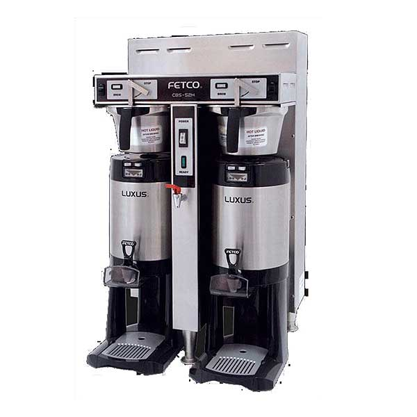 Fetco Handle Operated Series Coffee Brewer Twin 1.5 Gallon Capacity - CBS-52H-15