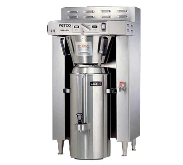 Fetco 6000 Series Coffee Brewer Single 3.0 Gallon Capacity - CBS-61H