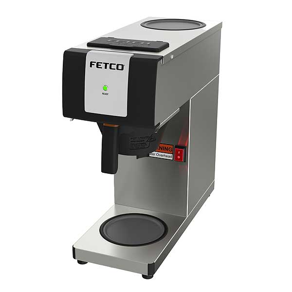 Fetco Pourover Coffee Brewer Single No Warmers - CBS-2121-P