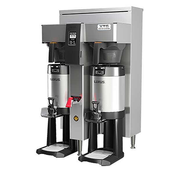 Fetco XTS Series Coffee Brewer Twin 1.0 Gallon Capacity - CBS-2142XTS
