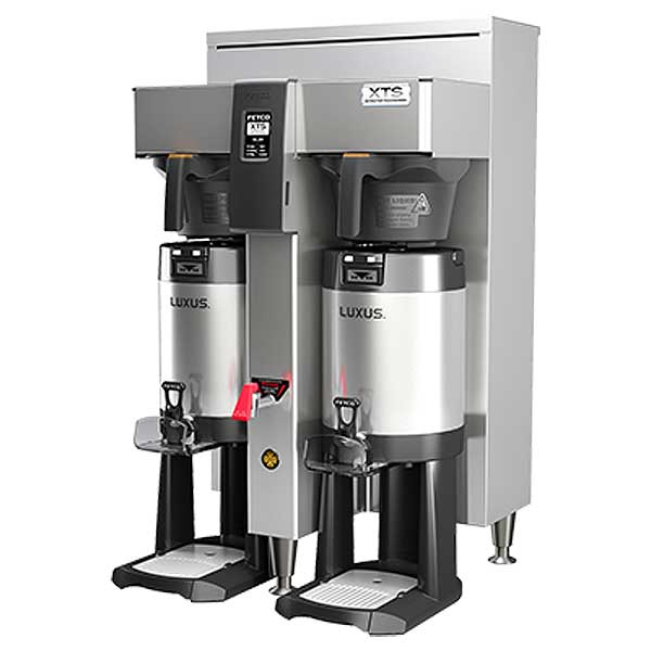 Fetco XTS Series Coffee Brewer Twin 1.5 Gallon Capacity - CBS-2152XTS