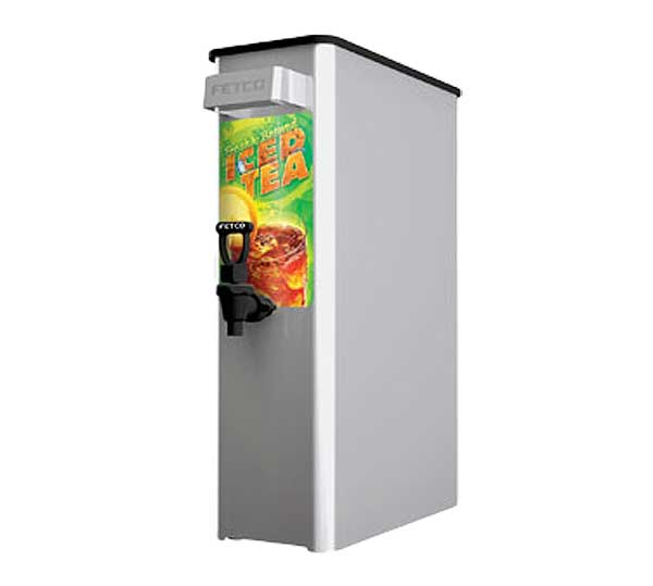 Fetco ITD-2135 Ice Tea Dispenser 3.5 Gallon Full Coverage Lid - D064W112