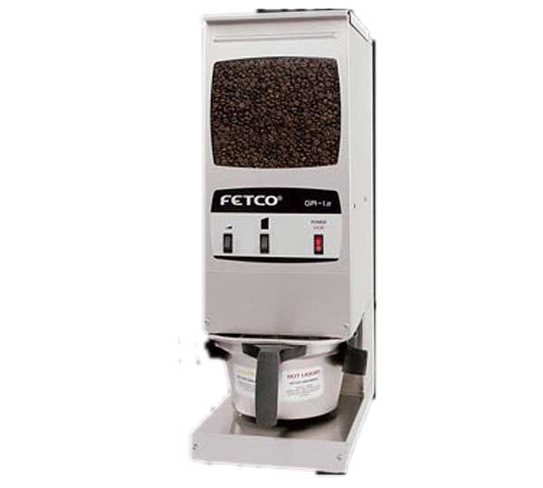 Fetco Coffee Grinder Portion Controlled (1) 15 Lb. Hopper Capacity - GR-1.2