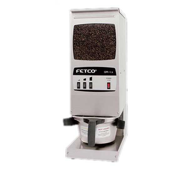 Fetco Coffee Grinder Portion Controlled (1) 15 Lb. Hopper Capacity - GR-1.3