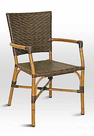 Florida Seating RT-04 Chair - Bamboo / Safari Seat