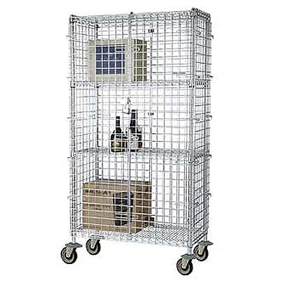Focus Security Cage Shelving - FMSEC Models