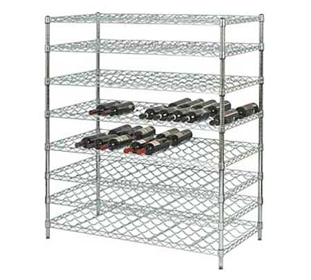 Focus Wire Wine Shelf Kits - Double