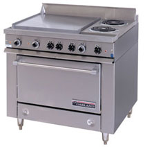 Heavy Duty Electric Commercial Oven Range with Griddle