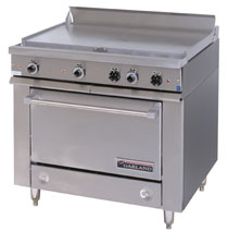 Heavy Duty Electric Griddle Top Commercial Oven Range