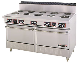Garland S684 Electric Commercial Oven Range With 10 Burners