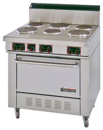 Garland Six Burner Electric Commercial Oven Range SS686