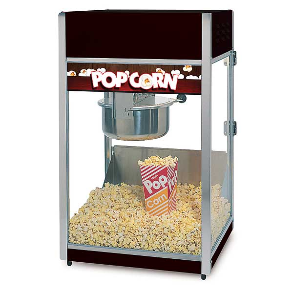 Global Popcorn Popper - 8 Ounce - GS1508