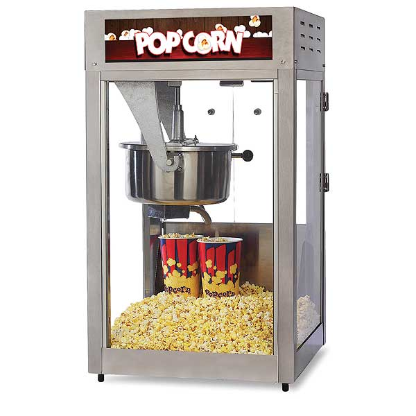 Global Popcorn Popper, 16 Ounce Model - GS1516