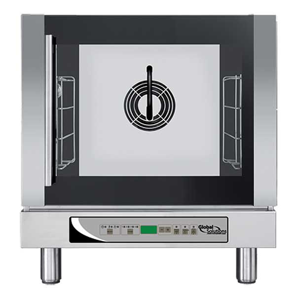 Global Convection Oven 1/2 Size 208-240V with Steam - GS1125