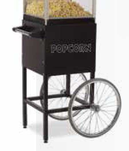 Global Popcorn Cart / Display Stand for 4 Ounce Model Popper - GS1504-C