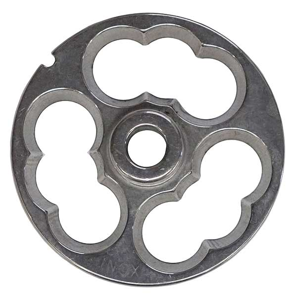 Globe Stuffing Plate For CC22 Meat Chopper (not Compatible With CM22) - CP00-22