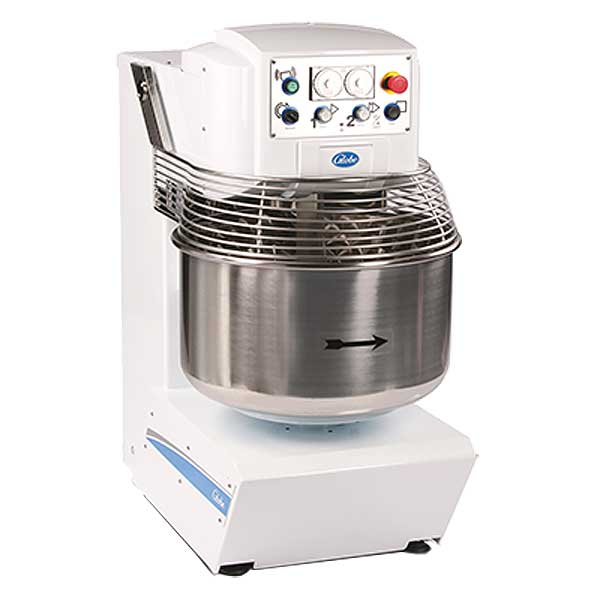 Globe Spiral Dough Mixer 175 Lbs. Capacity Stainless Steel Bowl - GSM175
