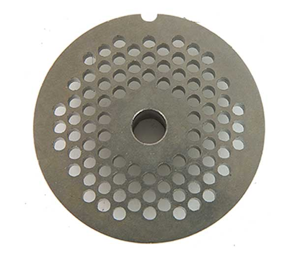 """Globe Chopper Plate 5/32"""" (4mm) For CC22 Meat Chopper (not Compatible With CM22) - CP04-22"""