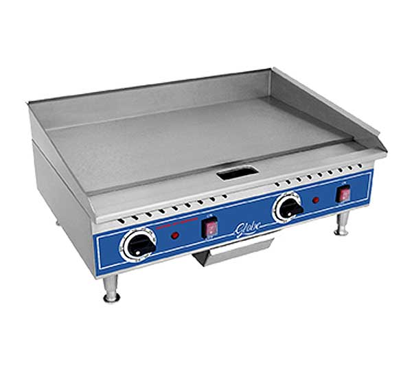 Globe Griddle Electric Countertop - PG24E