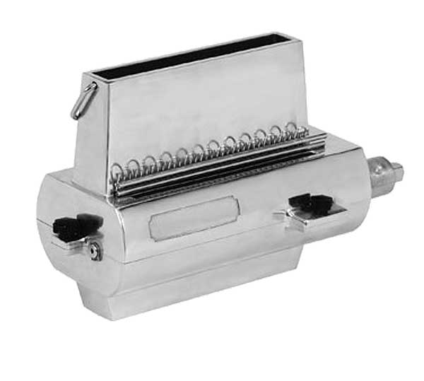 Globe Meat Tenderizer Attachment Cuts And Knits Both Sides Of The Meat At Once (33) Knives - CT12