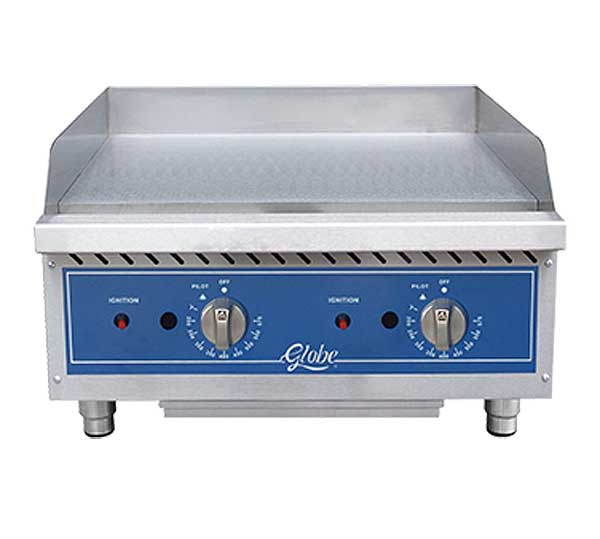 Globe Griddle Gas Countertop - GG24TG