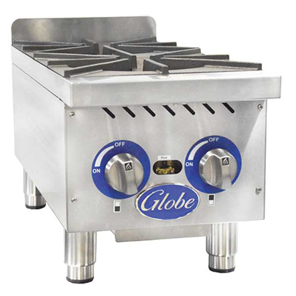 Globe Hotplate Gas Countertop - GHP12G