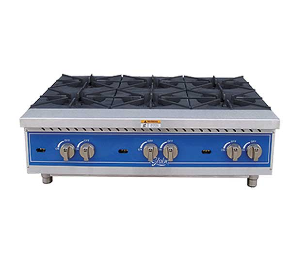 Globe Hotplate Gas Countertop - GHP36G