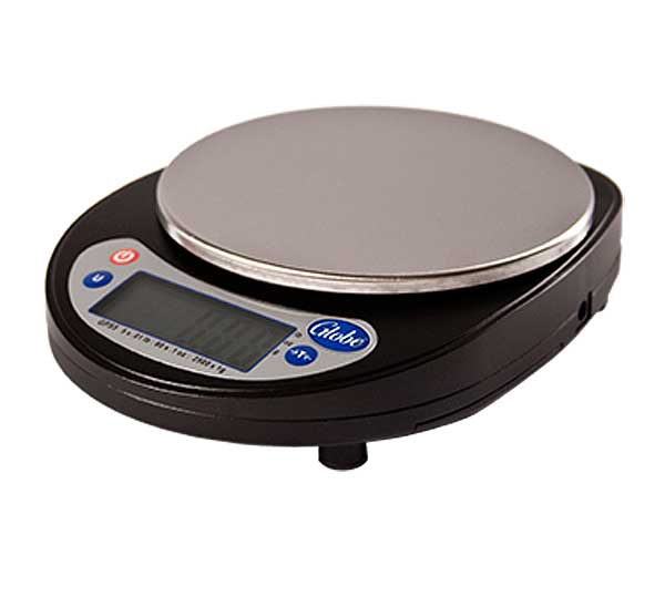 Globe Kitchen Portion Control Scale Compact Digital - GPS5