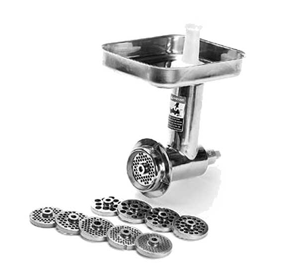 Globe Meat Grinder Assembly For #12 Hub Includes Knife - XMCA-SS