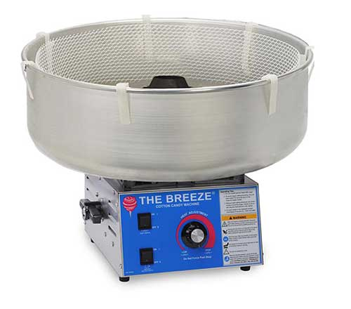 The Breeze Stainless Steel Cotton Candy Maker - 3030-00-000