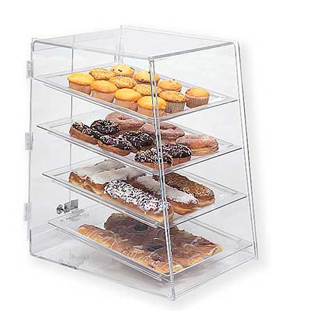 Bakery Display Case with Slant Front - BDT4
