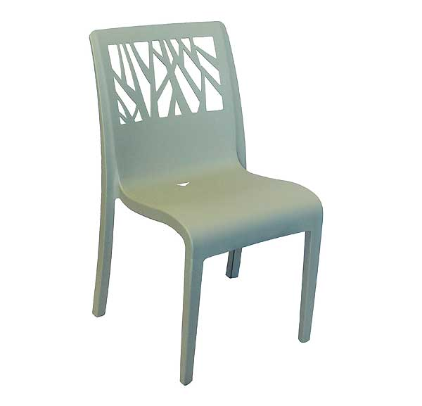Grosfillex Vegetal Armchairs, Case of 16