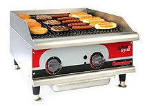 Countertop Cooking Line Gas Charrock Broiler
