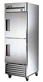 True T-23F-2 Stainless Steel Half Door Freezer