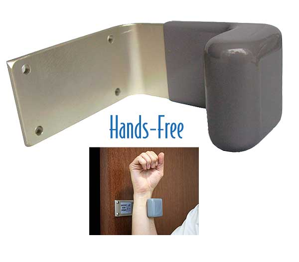 Sanitary Restroom Door Openers  sc 1 st  ABestKitchen & Every Restaurant Bathroom Door Should Have These Hands Free Door ...