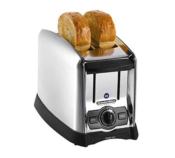 Hamilton Beach Proctor-Silex Wide Opening Pop-Up Toaster 2 slot - 22850