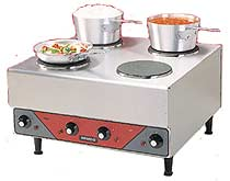 Nemco Four Burner Hot Plate