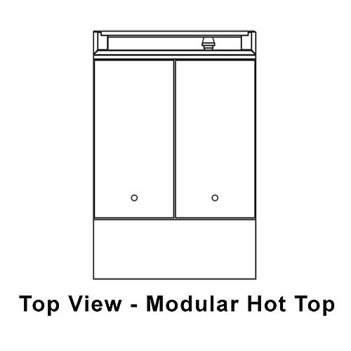 Southbend Modular Hot Top 24 Inch Platinum Heavy Duty Range - P24N-HH