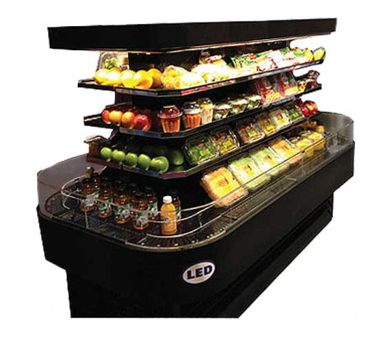 Howard McCray OD42I Refrigerated Island Merchandisers