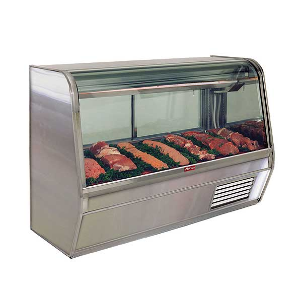 Howard McCray Red Meat Deli Cases 32E Curved Glass